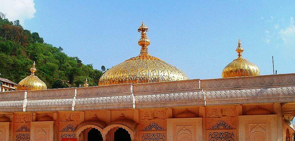 jwala devi temple seja bhawan dome