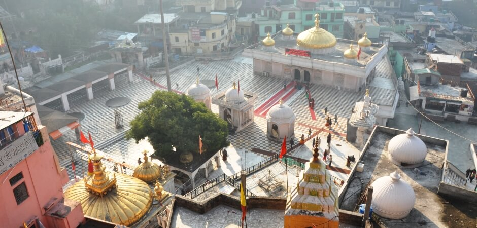 jwala devi temple overview at day